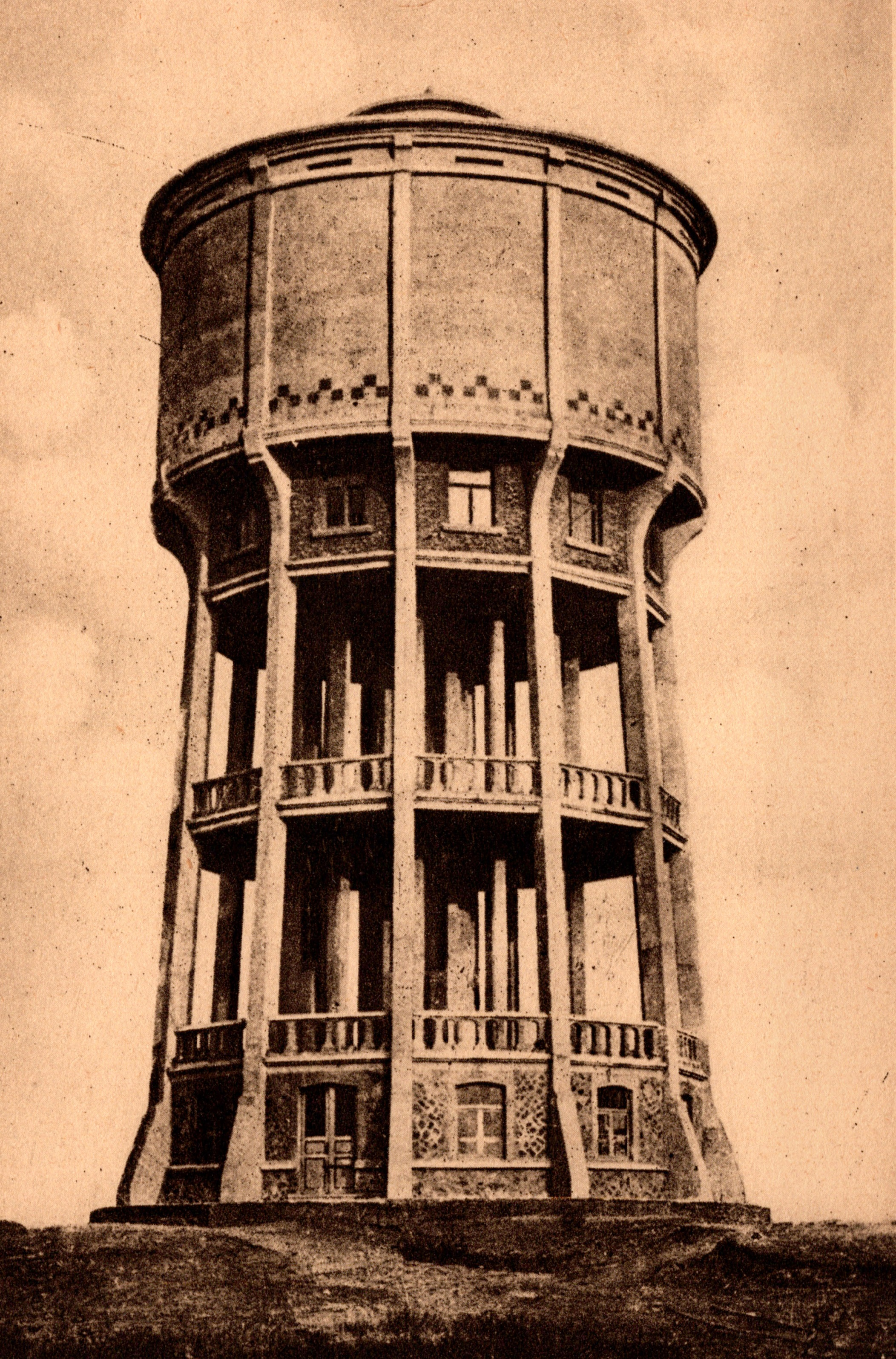 The Watertower of Camp Beverlo