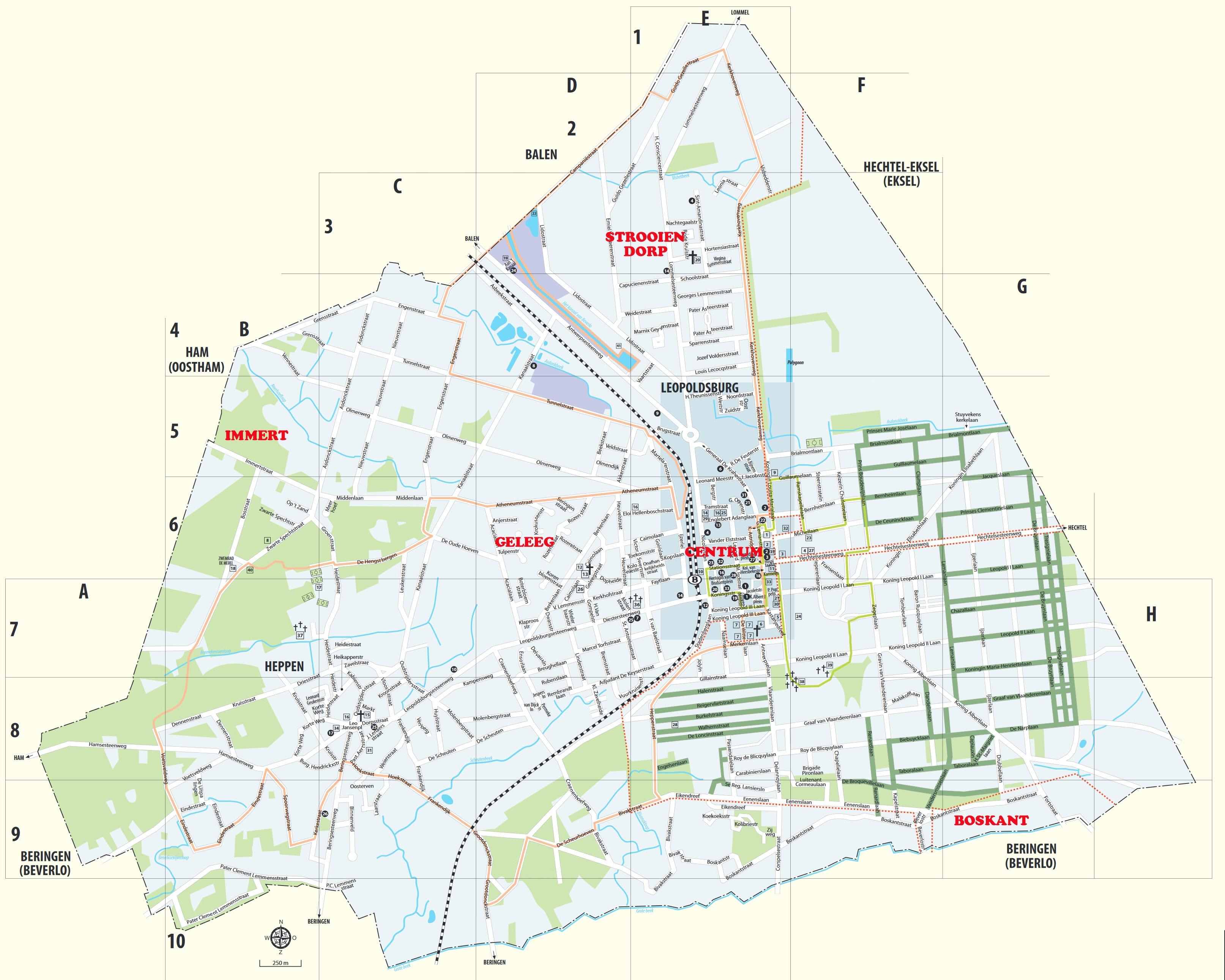 Gehuchten van Leopoldsburg & Heppen
