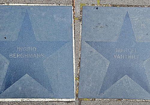 """het Kamp een """"Walk of Fame"""" heeft?"""