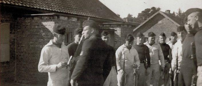 Matrozen Martin Gahbauer en Alois Wolf